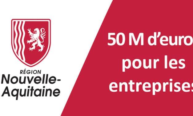Covid-19 : solidaire sur le plan national, la Région Nouvelle-Aquitaine crée un fonds de rebond et stratégique de 50 m€ pour les entreprises