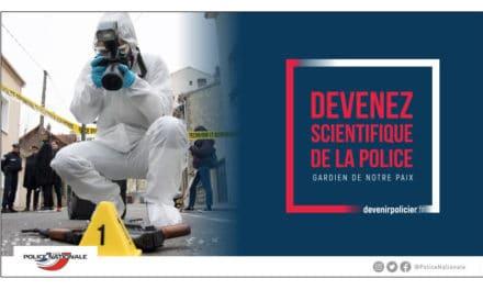 La police technique et scientifique recrute, inscrivez-vous pour la session 2020 !