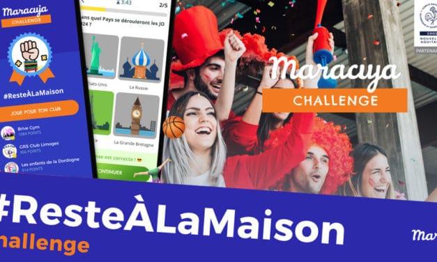 Les Challenges #ResteALaMaison pour les licenciés des clubs de sport, les collégiens et les lycéens de Nouvelle-Aquitaine, la réussite d'une initiative inédite !