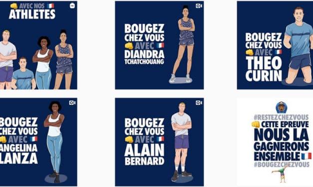 Paris 2024 et le mouvement sportif français lancent le filtre TikTok #BougezChezVous. À vous de jouer !
