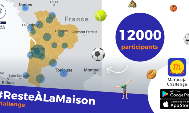 Le Challenge #ResteALaMaison pour les licenciés de Clubs de Sport de Nouvelle-Aquitaine rencontre un vif succès !