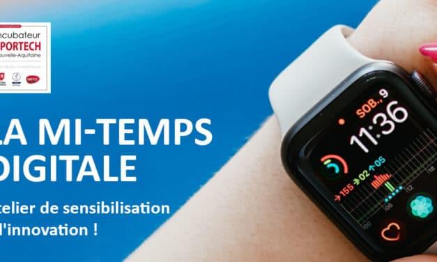 Sport et numerique – Lancement de «La Mi-Temps Digitale», ateliers de sensibilisation à l'innovation