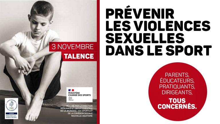 REPORT : Séminaire – Prévenir des violences sexuelles dans le sport