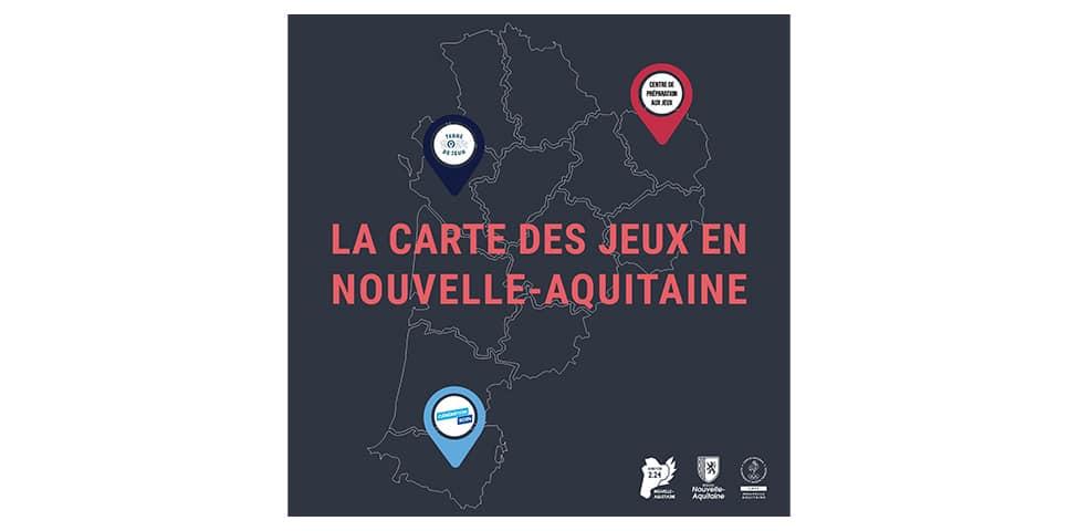 PARIS 2024 : La carte interactive des acteurs engagés en Nouvelle-Aquitaine
