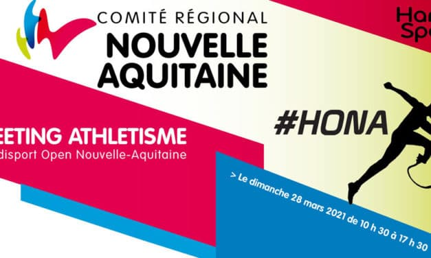Meeting International Handisport Open Nouvelle-Aquitaine 2021