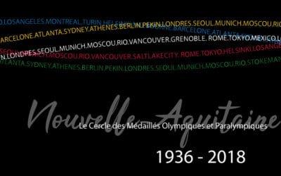 Le Cercle des Médaillés Olympiques et Paralympiques de Nouvelle-Aquitaine