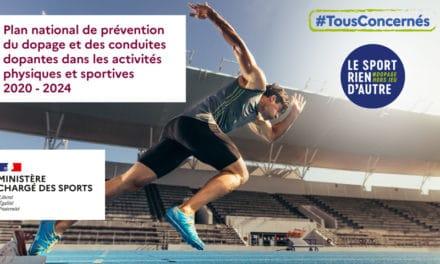 Réunion du Comité de pilotage du plan national de prévention du dopage et des conduites dopantes