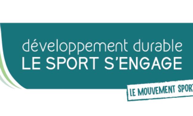 Label « Développement durable, le sport s'engage® »