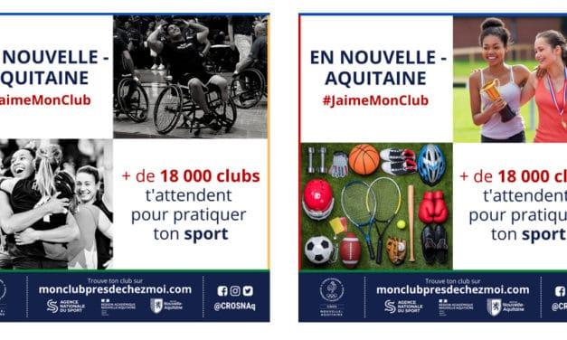 Reprendre le sport dans l'un des 18000 clubs de Nouvelle-Aquitaine