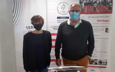 Signature de convention de partenariat entre le CROS et l'AMPD de Nouvelle-Aquitaine