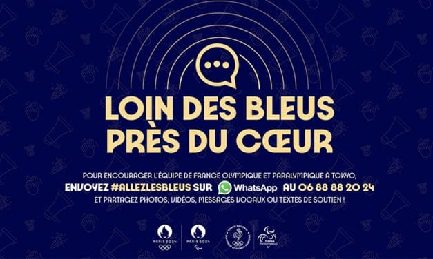 Envoyez votre message aux Bleus !