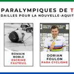 Jeux Paralympiques TOKYO – 7 médailles pour la Nouvelle-Aquitaine