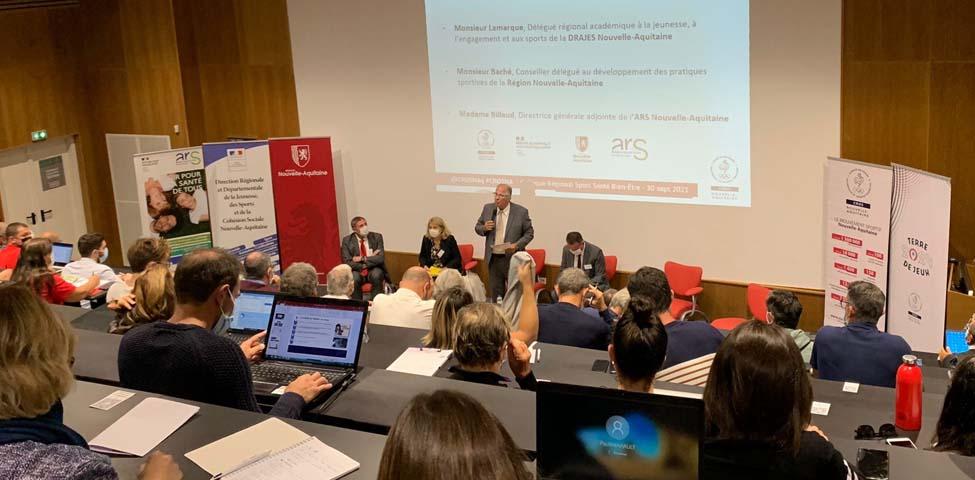 Bilan du Colloque Régional Sport Santé Bien-Etre du 30 septembre 2021